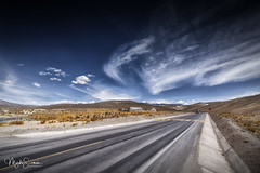 On the road (marko.erman) Tags: peru arequiparegion latinamerica southamerica altiplano road straight highaltitude bluesky clouds perspective horizon landscape travel outside outdoor sunny sony wideangle uwa pov