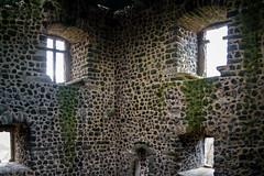 In the castle interior (HWW) (Lense23) Tags: fenster windows burg castle germany deutschland hww mauer wall abandoned verlassen
