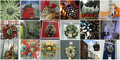christmas mosaic (belight7) Tags: collage christmas xmas cat home wreath windsor uk england heritage lynxie puddy love art sea holly trees decoration street house church