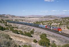ATSF 512 West at Laguna, NM (thechief500) Tags: atsf bnsf gallupsubdivision railroads laguna nm usa santaferailway