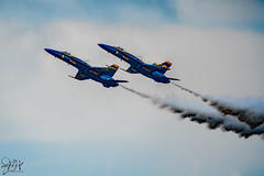 2019.10.27.7823 Blue Angels (Brunswick Forge) Tags: 2019 florida grouped day cloudy air sky clear airshow usn navy usnavy f18 jet blueangels autumn nikond500 nikkor200500mm aviation jets fighters jacksonville jacksonvillebeach jaxbeaches planes airplanes nikonflickraward outdoor outdoors