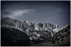At June Lake (WendieLarson) Tags: wendielou mountains sierranevada california blackandwhite landscape landscapes nikon nikond7000