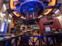 A Fishy Food Place (mwjw) Tags: hollywoodstudios disney disneyworld orlando florida wdw markwalter mwjw nikond850 nikon24120mm nightshot night longexposure galaxysedge