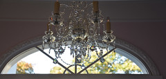 It's The Light That Makes You Shine (BKHagar *Kim*) Tags: bkhagar window light glass chandelier sale estatesale huntsville al alabama hww