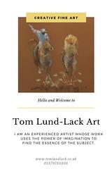 Tom Lund-Lack Art (ryantodd007) Tags: fine art painting uk creative horse racing