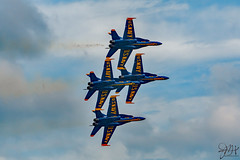 2019.10.27.7811 Blue Angels (Brunswick Forge) Tags: 2019 florida grouped day cloudy air sky clear airshow usn navy usnavy f18 jet blueangels autumn nikond500 nikkor200500mm aviation jets fighters jacksonville jacksonvillebeach jaxbeaches planes airplanes