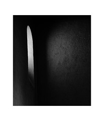 Close the Window, it's cold! (Thomas Listl) Tags: thomaslistl blackandwhite biancoenegro noiretblanc monochrome window church churchinterior dark minimal empty emptiness wall open mood gloomy lowlight tele