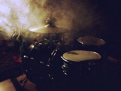 Smoke on the W... Drums (shortscale) Tags: drums smoke dampf vaper vaping