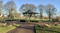 Bandstand in Maurice Lea Park in Church Gresley (live-that-life) Tags: parks derbyshire churchgresley dec19 swadlincote