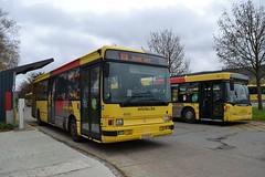 6652 Namur Gare (brossel 8260) Tags: belgique bus tec brabant wallon namur
