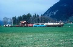 MOB 2002  Blankenburg  21.10.95 (w. + h. brutzer) Tags: blankenburg eisenbahn eisenbahnen train trains schweiz switzerland railway triebwagen triebzug triebzüge mob webru analog nikon