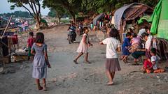 by the Ayeyarwady (grapfapan) Tags: travel myanmar mandalay people children burmese