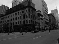 The Coffee Shop (Alex Luyckx) Tags: toronto ontario canada downtown urban metro streets random afternoon cloudy winter christmas wandering walk mamiya mamiyam645 m645 slr 120 645 6x45 mediumformat mamiyasekorc45mm128n foma fomapan fomaretropan320 retropan320 asa320 kodak kodakd76 d76 stock 10 gossenlunasixf epsonv700 adobephotoshopcc bw blackwhite film filmphotography believeinfilm filmisalive filmisnotdead