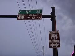 Route 66 in Tulsa (DieselDucy) Tags: route66 tulsa