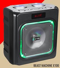 Beast Machine X100 Speakers - EnterGo (Enter-GO) Tags: portablespeaker enterproduct bluetoothspeaker wireless speaker