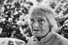 woman (rainerneumann831) Tags: bw blackwhite street streetscene ©rainerneumann urban monochrome candid city streetphotography blackandwhite lisboa lissabon frau portrait