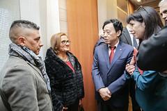 12193s9622 (FAO News) Tags: fao headquarters rome italy signing agreement centroagroalimentarediroma car mercatigenerali generalmarkets directorgeneral qu