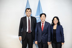 12193s9631 (FAO News) Tags: fao headquarters rome italy signing agreement centroagroalimentarediroma car mercatigenerali generalmarkets directorgeneral qu