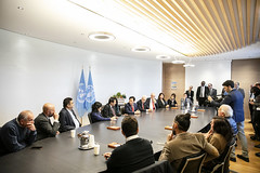 12193s9707 (FAO News) Tags: fao headquarters rome italy signing agreement centroagroalimentarediroma car mercatigenerali generalmarkets directorgeneral qu