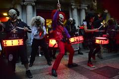 batucada (gabrielg761) Tags: batucada donosti festival terror mascaras payasos