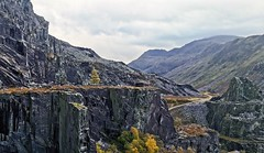 Abandoned quarry in Dinorwic (thingsihaveseen) Tags: huaweip30pro huawei smartphonephotography dinorwic quarry abandoned snowdonia