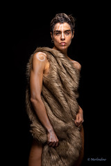 Tribal ... (Merlindino) Tags: albachiara minette tribal makeup sony sinteticfur portrait ritratto glamour
