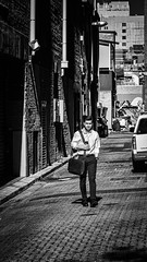 Backlane shortcut (Chris (a.k.a. MoiVous)) Tags: streetphotography streetlife commuters