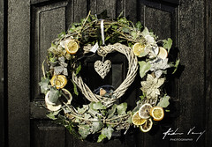 Festive Wreath (Explored 05/12/19) (andrew.varney) Tags: christmas wreath handmade yule decorations crafts