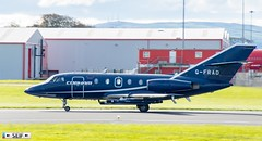 G-FRAD Dassault Falcon 20 Prestwick Scotland 2019 (seifracing) Tags: gfrad dassault falcon 20 prestwick scotland 2019 cobham aviation services seifracing spotting strathclyde scottish security seif emergency europe rescue recovery transport traffic car vehicles voiture road series avion