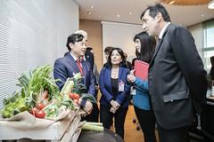 12193s9589 (FAO News) Tags: fao headquarters rome italy signing agreement centroagroalimentarediroma car mercatigenerali generalmarkets directorgeneral qu