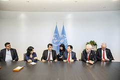 12193s9651 (FAO News) Tags: fao headquarters rome italy signing agreement centroagroalimentarediroma car mercatigenerali generalmarkets directorgeneral qu