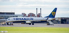 EI-DCM Boeing 737-8AS Prestwick Scotland 2019 (seifracing) Tags: ryanair eidcm boeing 7378as prestwick scotland 2019 seifracing spotting services scottish security seif emergency europe ecosse rescue recovery transport traffic avion aviation