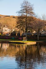 Reflections, Largs, North Ayrshire (Briantc) Tags: scotland northayrshire ayrshire largs clyde reflections pond