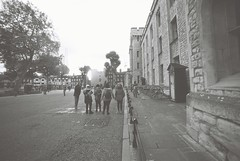 Tower of London (goodfella2459) Tags: nikonf4 ilfordpanfplus50 35mm blackandwhite film analog history london buildings toweroflondon bwfp