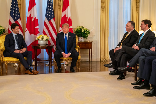 President Trump Meets with Canadian Prime Minister Trudeau, From FlickrPhotos