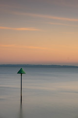 Single (daveknight1946) Tags: essex southend single river riverthames longexposure coast marker post sky clouds fujixt3 daveknight