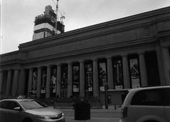 Union (Alex Luyckx) Tags: toronto ontario canada downtown urban metro streets random afternoon cloudy winter christmas wandering walk mamiya mamiyam645 m645 slr 120 645 6x45 mediumformat mamiyasekorc45mm128n foma fomapan fomaretropan320 retropan320 asa320 kodak kodakd76 d76 stock 10 gossenlunasixf epsonv700 adobephotoshopcc bw blackwhite film filmphotography believeinfilm filmisalive filmisnotdead