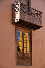 wooden window and balcony (Hayashina) Tags: tenerife garachico spain window balcony wooden reflection hww