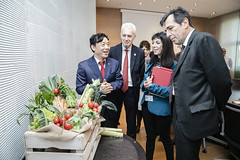 12193s9578 (FAO News) Tags: fao headquarters rome italy signing agreement centroagroalimentarediroma car mercatigenerali generalmarkets directorgeneral qu