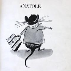 Anatole. (Kultur*) Tags: vintage vintagebook anatole paul galdone 1950s vintagechildrensbooks