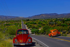 Scottsdale, Arizona (oybay©) Tags: car arizona az smallcar scale unique vw volkswagen volkswagenbeetle beetle bug vwbug