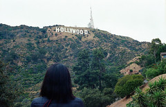 Hollywood (Past Our Means) Tags: canon ae1 canonae1 film filmisnotdead filmphotography filmsnotdead hollywood motion picture kodak kodakportra portra 400 analog analogue girl sign hike hiking la los angeles wanderlust adventures adventure travel summer 2019 kodakfilm 35mm 28mm california