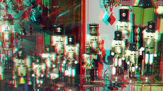 Etalage Witte de Withstraat Rotterdam 3D (wim hoppenbrouwers) Tags: etalage wittedewithstraat rotterdam 3d anaglyph stereo redcyan shopwindow