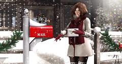 Santa mail (meriluu17) Tags: santainc mail mailbox postcard letter send sending express christmas winter snow snowing sisi her people