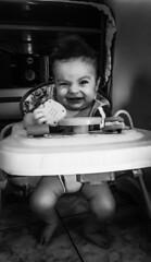 B&W / P&B (Jéssika J.) Tags: preto e branco bebe blackandwhite smile