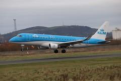 KLM Cityhopper PH-EXJ BHD 02/12/19 (ethana23) Tags: planes planespotting aviation avgeek aircraft aeroplane airplane embraer e175 175 klm cityhopper