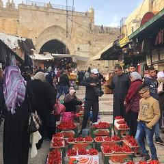 La vieille ville (b.benakacha) Tags: strawberry damascus gate oldcity jerusalem damscusgate palestine orient oriental