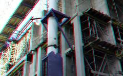 Vijzel Zalmhaventoren Rotterdam 3D (wim hoppenbrouwers) Tags: vijzel zalmhaventoren rotterdam 3d anaglyph stereo redcyan hoogbouw nieuwbouw hijsloods