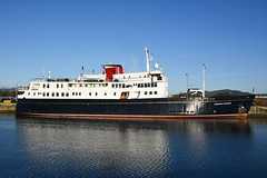 MV Hebridean Princess - Greenock - 30-11-19 (MarkP51) Tags: mvhebrideanprincess jameswattdock greenock scotland cruiseship ship boat vessel nikon d7200 nikon24120f4vr sunshine sunny