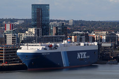 Prometheus Leader, Grain Terminal, Southampton, August 31st 2019 (Southsea_Matt) Tags: prometheusleader nykline grainterminal southampton hampshire england unitedkingdom august summer 2019 canon 80d boat ship vessel transport